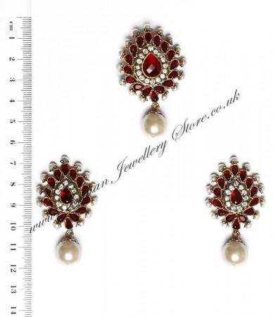 Isla Pendant & Earrings NARA10126