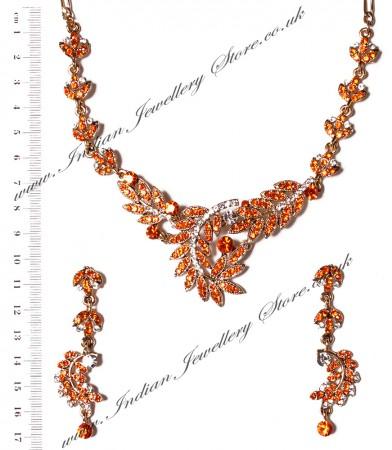 Crystal Necklace Set NAOC03842