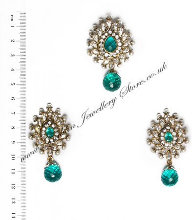 Isla Pendant & Earrings NALA10117