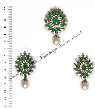 Isla Pendant & Earrings NAGA10124