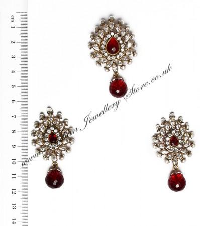 Isla Pendant & Earrings NARA10115