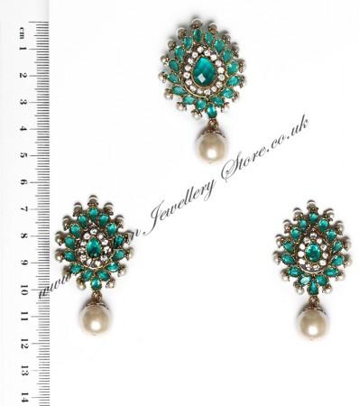 Isla Pendant & Earrings NALA10122