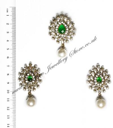 Isla Pendant & Earrings NAGA10116