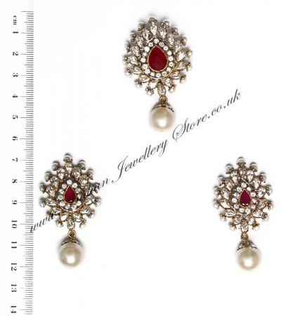 Isla Pendant & Earrings NARA10114