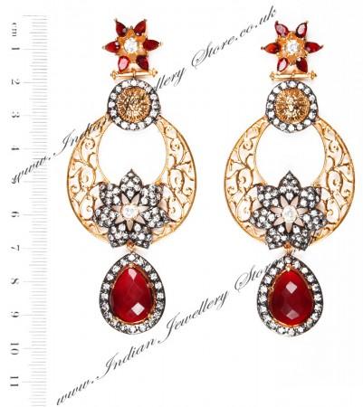 NISHA Indian Earrings EARA04056