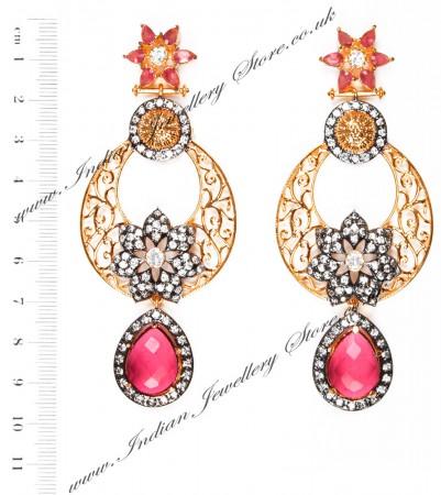 NISHA Indian Earrings EAPA04058
