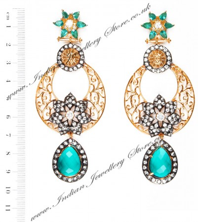 NISHA Indian Earrings EALA04060