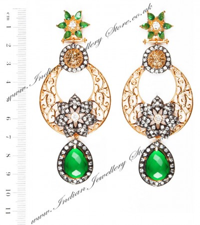 NISHA Indian Earrings EAGA04061