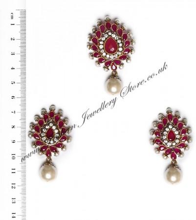 Isla Pendant & Earrings NARA10125