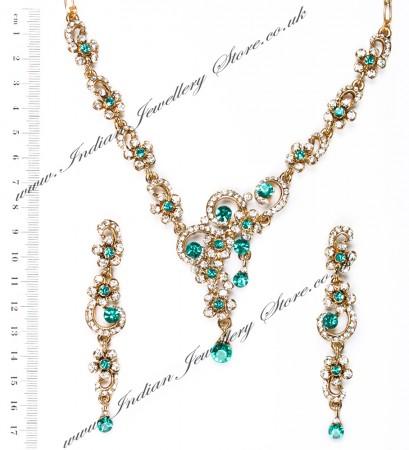 Elegant Crystal Necklace - Susan NAWC10562C