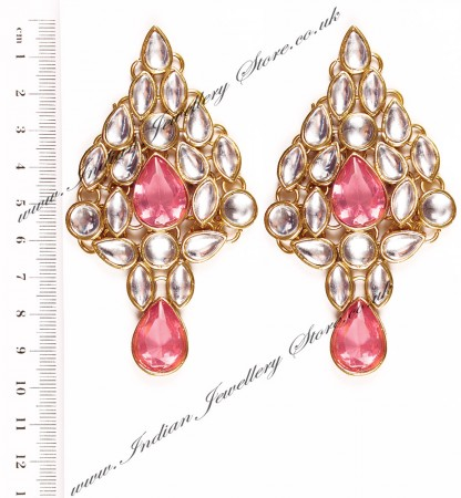 KUSHI Kundan Earrings EGPK03336