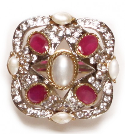 MUGHAL Medium Ring RGPA02755