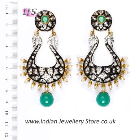 Neha Large Indian Earrings ESGA04348