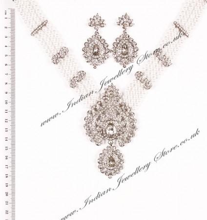 Elizabeth Necklace and Earrings NSWC03715