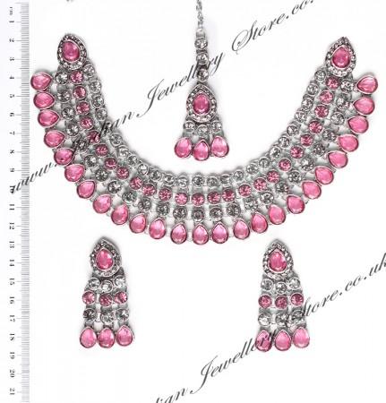 Pari Collar Necklace Set NCPC10016