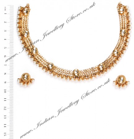 Delicate collar necklace NAWP04739