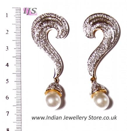 American Diamond Earrings ESWA02943