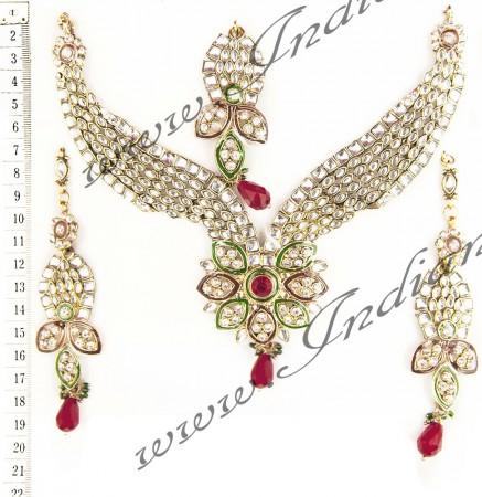 Kundan Necklace Set NGAK02566