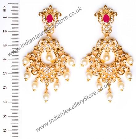 Kirsty Fine American Diamond Chandeliers EERA10411