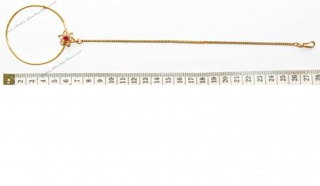 Jodha Large Bridal Nath No.7 TGPP02435