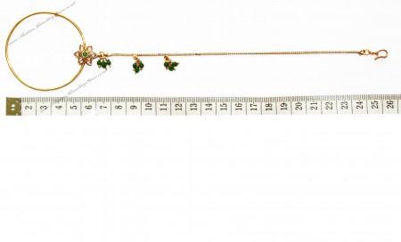 Jodha Large Bridal Nath TGGP02434