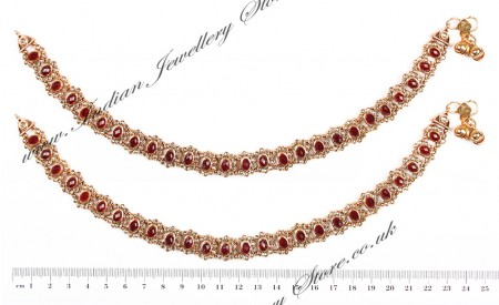 Polki Indian Anklet / Payal YARP04457