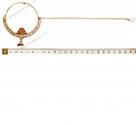 EXTRA Large Bridal Nath TGRP02424