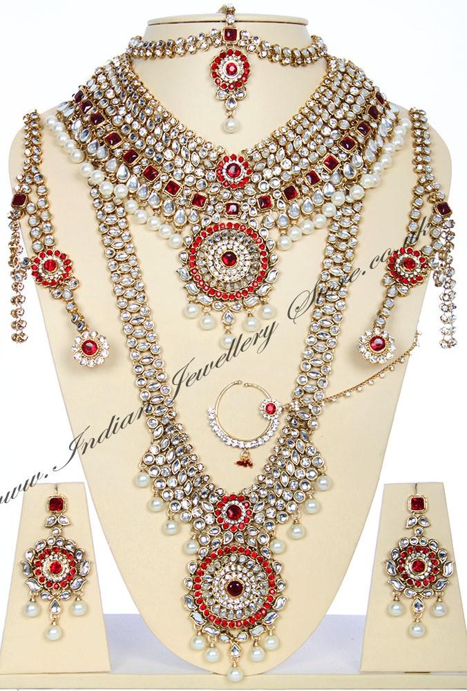 Buy Jodha Akbar Jewellery 4k Jark04126 Indian Jewellery