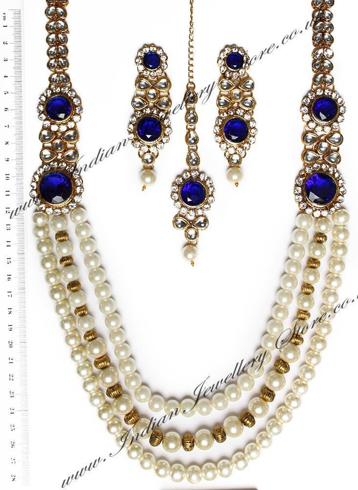 Buy Alpana Pearl Mala Indian Nawk10535c Indian Jewellery
