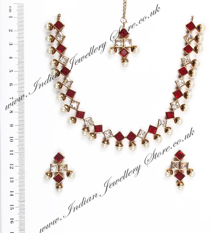 Buy Printi Delicate Pearl Necklace Naca10218c Indian