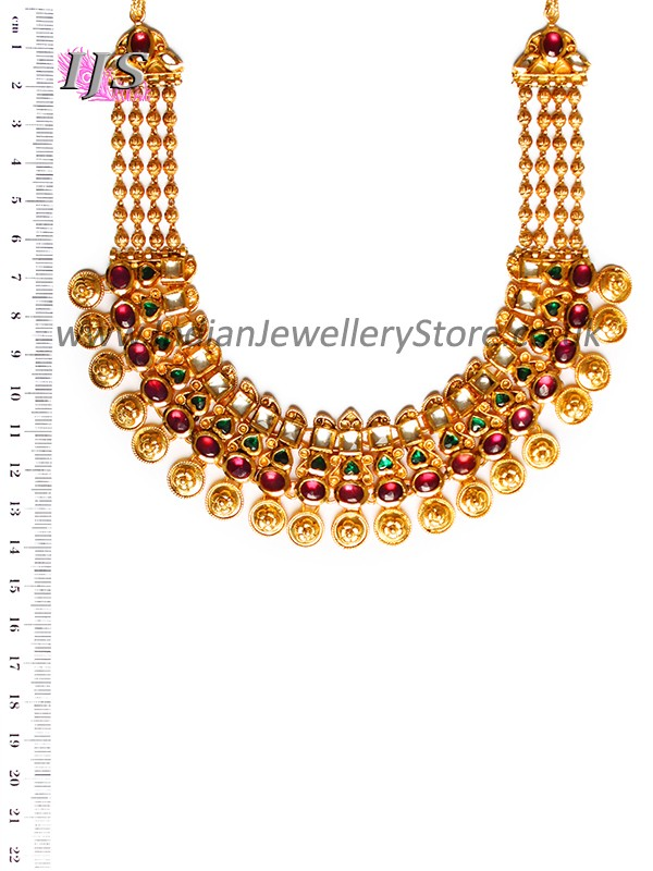 22k gold effect kundan necklace set indian jewellery for 22k gold jewelry usa