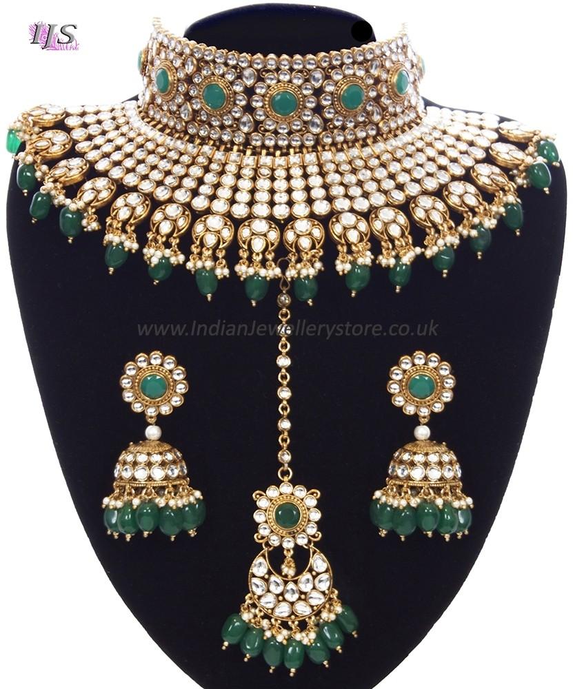 Designer Sabyasachi Inspired Bridal Jewellery Set Indian