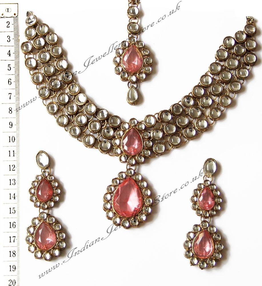 Buy Kundan Choker Necklace Priya Nacc10438c
