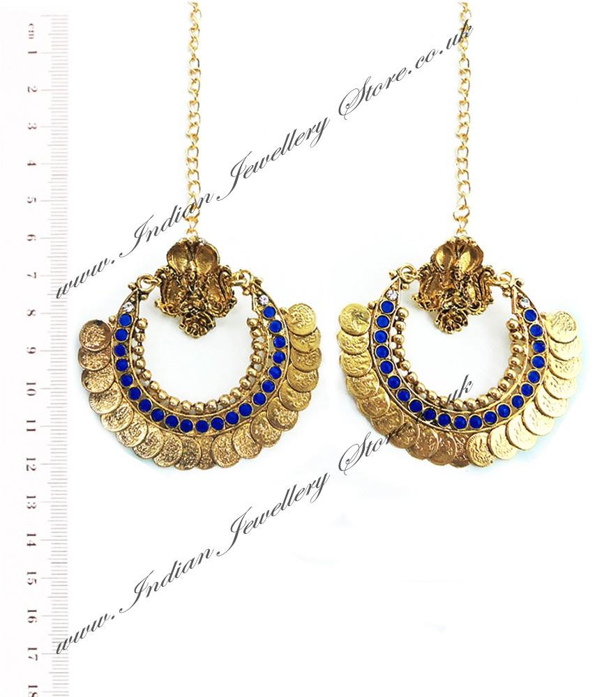 Buy RAM LEELA Inspired Earrings EALP04104 | Indian ...