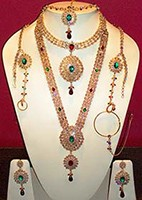 ANUSHKA Bridal Set BGAA0422 Indian Jewellery