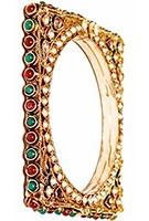 2x Indian Bangles 2.8 WGMP02974 Indian Jewellery