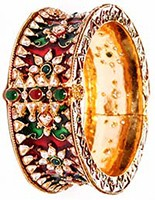 1 x Indian Bangle 2.8 WGAP02980 Indian Jewellery