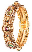 2 x Rajasthani Bangles, 2.6 WGAP03640 Indian Jewellery