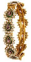 Set of 2 x Indian Bangles, 2.10 WAMP04229 Indian Jewellery