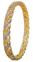 2 x American Diamond Churis, 2.6 WGWA04802 Indian Jewellery
