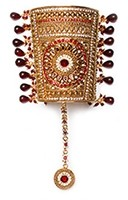 1 x Rajasthani Cuff - Panja, 2.6 WARC04833 Indian Jewellery