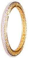 2x Heart Indian Bangles, 2.8 WGWA03609 Indian Jewellery