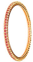 2 x Gold Effect Bangles, 2.8 WGPA03618 Indian Jewellery