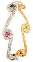 2 x Indian Bangles, 2.8 WGAA04219 Indian Jewellery