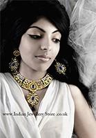 MIA Kundan Necklace Set NAWK10539C Indian Jewellery