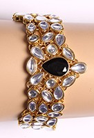 Kundan Bracelet WGBK03569 Indian Jewellery