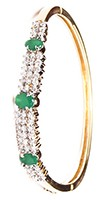 Delicate American Diamond Bracelet WGGA03595 Indian Jewellery