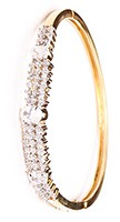 Delicate American Diamond Bracelet WGWA03596 Indian Jewellery
