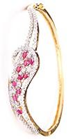 Delicate American Diamond Bracelet WGRA03600 Indian Jewellery