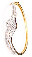 Delicate American Diamond Bracelet WGWA03601 Indian Jewellery